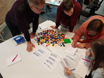 Agile Workshop with LEGO® SERIOUS PLAY® Methodology