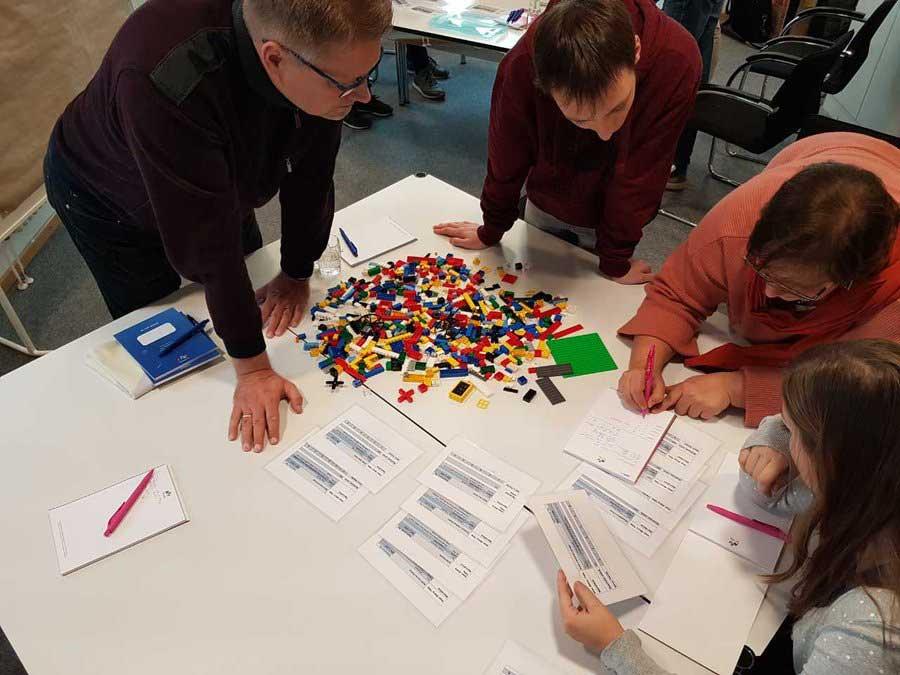 Agiler Workshop mit LEGO® SERIOUS PLAY® Methodik