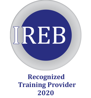 The IREB CPRE training with certification qualifes testers in requirements analysis and management for requirements engineering.